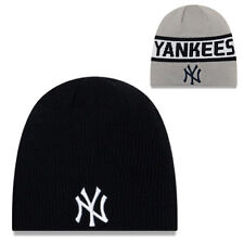 New Era New York Yankees Classic Knit Beanie Winter Hat Reversible Skully Cap