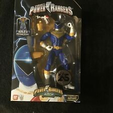 Bandai Limited Edition Power Rangers Zeo Legacy Collection Blue Ranger Figure