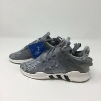 Adidas Boys EQT Support ADV C Sneakers Gray BB0252 Lace Up Shoes 11 M New