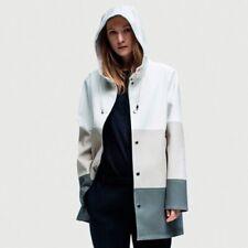 RRP €195 STUTTERHEIM Raincoat Size XXL PVC Coating Unlined Popper Front
