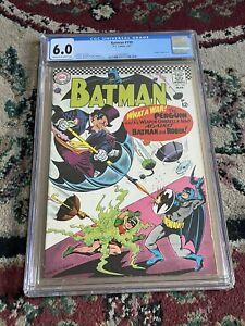 BATMAN #190 CGC 6.0 PENGUIN Classic Cover 1967 Silver Age DC Key