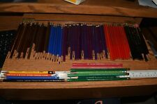 Vintage Lot 73 Eberhard Faber Commodore, Eagle, Mirado, Castell, Colored Pencil