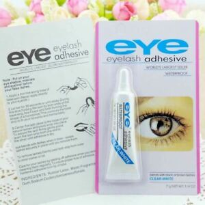 EYE-DUO Eyelash Glue Clear Waterproof Strong Adhesive Makeup False Eye Lash Glue
