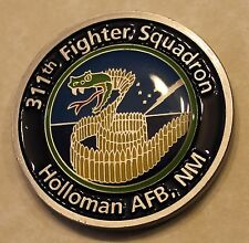311th Fighter Squadron Holloman AFB, NM Air Force Challenge Coin