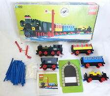 LEGO 182 Train Set With Motor - Box & Instructions Complete Vintage 70s