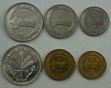 SYRIA 6 Coins 1968-1976 UNC Set FAO Issue Euphrates Dam