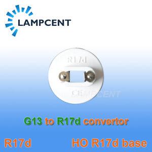 10-400/PCS G13 Bi-Pin to R17D (HO) Converter Adapter T8/T10/T12 LED Tube Light