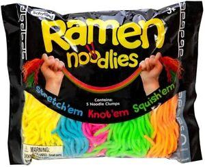 Nee Doh Ramen Noodlies Stetch'em Squeeze'em Loop'em Stress Relief Sensory Needoh