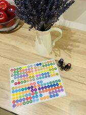 Essential Oils Bottle Cap Stickers For doTerra Oils 1 Sheet Latest release 2019
