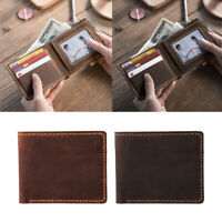 DIY Leather Wallet Kit Short Purse Bifold Kit Making Craft for Beginners