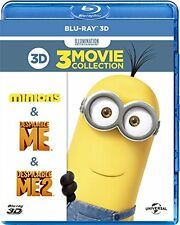 ANIMATION-DESPICABLE ME BEST VALUE 3D SET-JAPAN 3 Blu-ray Ltd/Ed K34
