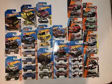 Hot Wheels Dodge Ram 1500, Van, D100, A100 Walgreens Exclusive VHTF Lot Of 26.