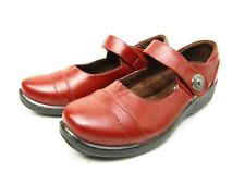Patrizia by Spring Step JODI  Mary Jane Adjustable Strap  Shoes Bordeaux Size 39
