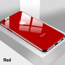 Tempered Glass Phone Case For iPhone 11 Pro X XS Max 7 8 6 6s Plus Glossy Cover