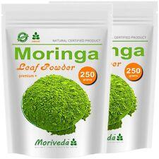 Moringa 500g Blattpulver PREMIUM PLUS mit Qualitätsgarantie (2x250g Pulver)