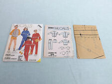 McCall's Boys & Girls Pattern 2081~Jacket, Sweatshirt, Pants or Shorts ~ Small 7
