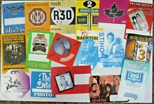 Backstage passes Amazing Collection Allmans Beachboys Rush Bonjovi Seger Sting B