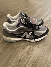 NEW New Balance 990v4 Size 9.0 D Made in USA Silver Mink Grey White M990XG4