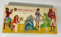 Vintage 1976 Career Girls What Shall I Be Board Game Edition Two Complete