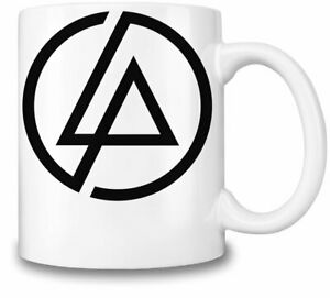 Linkin Park Logo Black themed 11oz Ceramic coffee Mug Birthday gift.