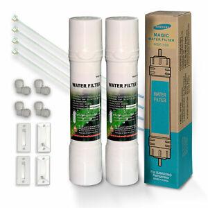 2x original WSF-100 v2 Magic Water Filter Kühlschrankfilter WSF100 für Samsung