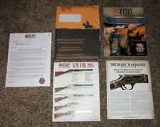 Henry Rifles Spring 2018 gun catalog The Repeater newsletter Free Shipping in Us