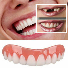 Smile Snap On Top Veneers Instant Cosmetic Silicone Teeth Cover Whitening Braces