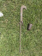 Beam Balance Hang Scale Cotton Tobacco Grain Pea 1 - 160 Lbs # Antique