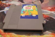 Sesame Street: Big Bird's Hide & Speak, NES Games Tested USED