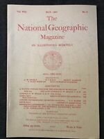 (REPRINT!) National Geographic Magazine May  1897 Vol. VIII No. 5, Costa Rica