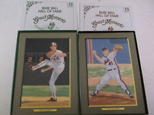 Baseball Memorabila-hall of fame great moments # 7 & 8 N/Mint-----7