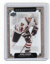 2018-19 Upper Deck Chronology Base Card # 81 Denis Savard Chicago Blackhawks