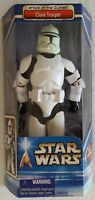 STAR WARS ATTACK OF THE CLONES CLONE TROOPER 12 INCH ACTION FIGURE