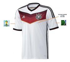 Trikot Adidas DFB WM 2014 Home Finale Rio Maracana Deutschland Argentinien Badge