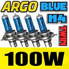4 BULBS VOLKSWAGEN BORA XENON ICE VISION BLUE 100W 472 HEADLIGHT BULBS H4