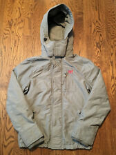 Abercrombie & Fitch All Season Weather Warrior Jacket Medium Hoodie Hollister
