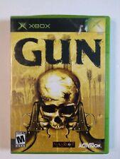 XBOX GUN 2015 Video Game w/ Manual