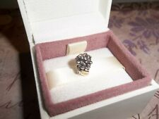 Genuine Authentic Pandora Silver and 14ct Gold Love Bouquet Charm 790441