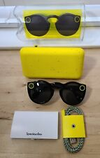 Snap Inc. SnapChat SPECTACLES Sunglasses Black Original 1st Generation