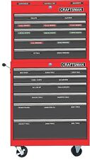 Magnetic Tool Box Labels fits all craftsman tool chest and tool storage cabinets