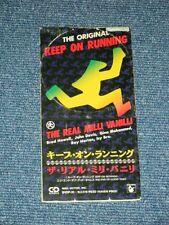 "The REAL MILLI VANILLI Japan 1991 Tall 3"" CD Single KEEP ON RUNNING"