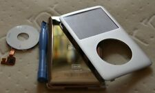 iPod (Silver)Classic 6th Gen 120GB Front&Back Cover+Click Wheel