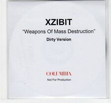 (EF85) XZIBIT, Weapons of Mass Destruction - DJ CD