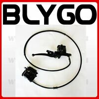 Hydraulic Rear Disc Brake Caliper System + Pads 110cc 125cc Quad Dirt Bike ATV