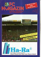 BL 92/93 1. FC Saarbrücken - SV Werder Brema