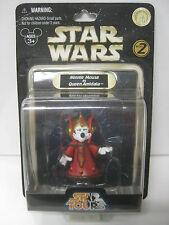 Star Wars Star Tours Minnie Mouse as Queen Amidala Figure Disney 2008 - NEW