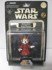 Star Wars Star Tours Minnie Mouse As Queen Amidala Figura Disney 2008 - Nuevo