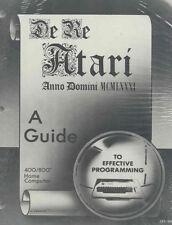 De Re Atari, Programming Giude 800/XL/XE NEW!