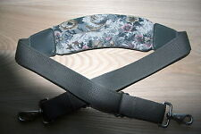 "New Floral Replacement Shoulder Strap, Luggage, Camera bag, 1.5"" W x 48"" L nice"