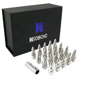 NiceCNC 12mm x 1.5 Lug Nuts T304 for Kia Cerato Koup 2009-2018 Soul 2009-2018